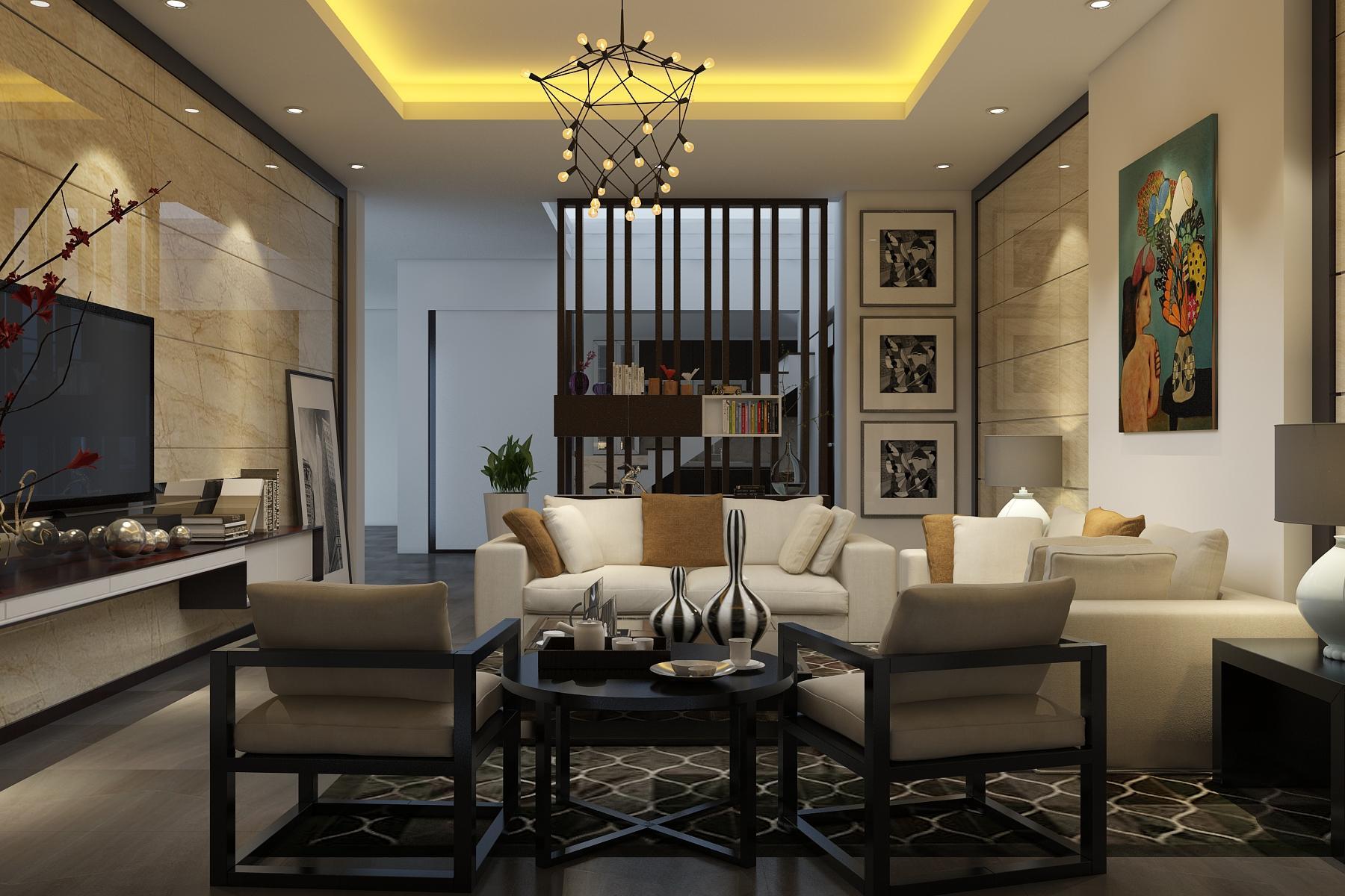 Nội thất phòng khách đẹp nhà chú Tuấn - Điện Biên
