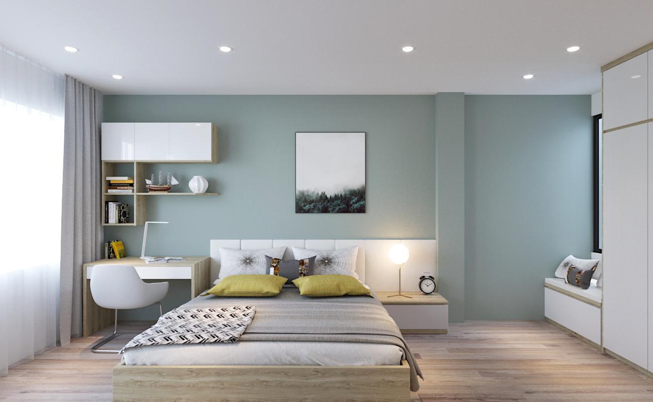 Thiết kế phòng ngủ trẻ em – Phòng ngủ con anh Nhân