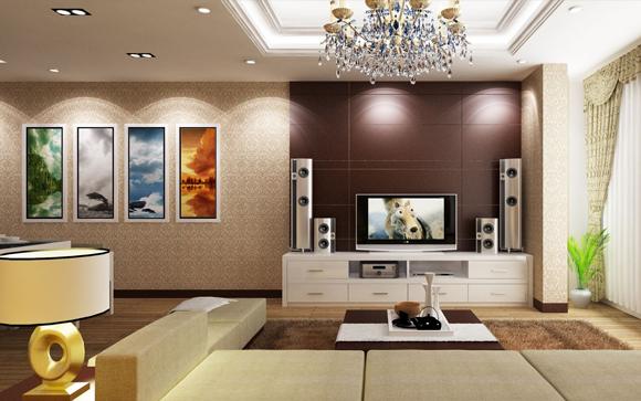 Thiết kế nội thất biệt thự với phong cách cổ điển sang
